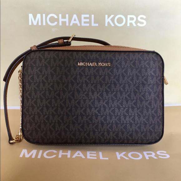 0dc6c05cd390 Michael Kors Bags | Large Crossbody Shoulder Bag Nwt | Poshmark